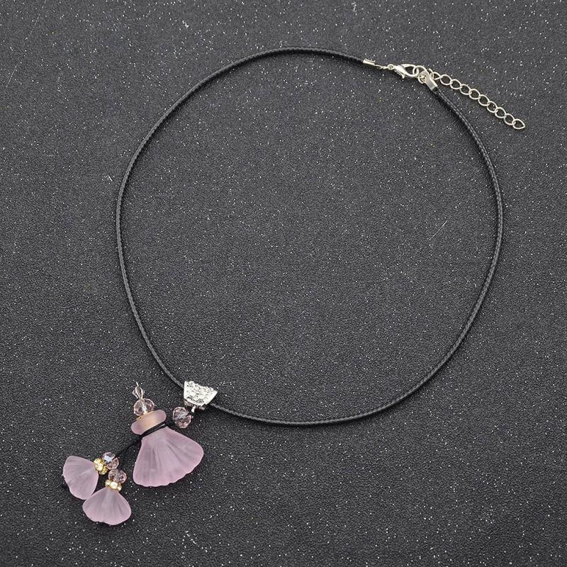 fashion lychee Lampwork Glass Bottle Pendant Necklace s