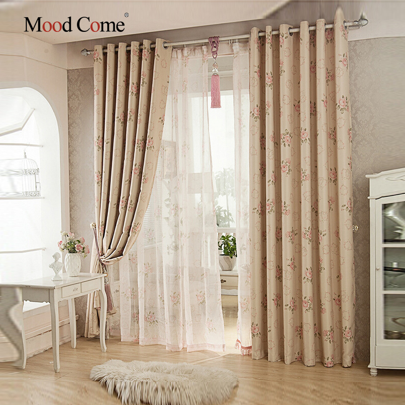 living room curtains cheap euporean pattern blackout curtains for living room bedroom 12721