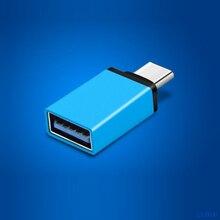 Antirr USB Type C Adapter Male to USB 3.0 Female USB Type-C OTG Adapter Converter for Nexus 5X Macbook Chromebook Huawei Xiaomi