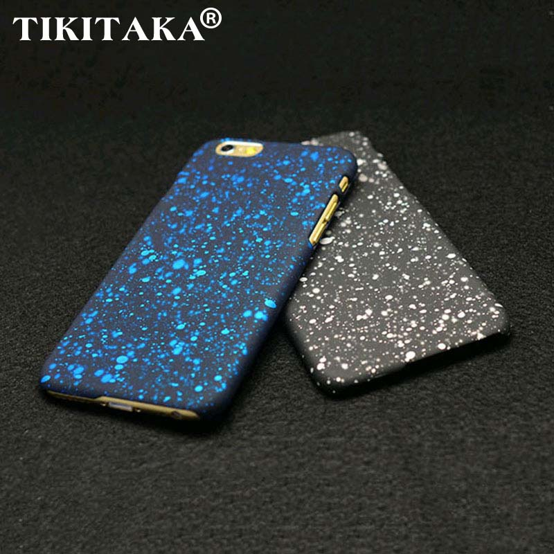 buy popular ed099 e8eb4 New Style 3D Cover Three dimensional Stars Ultrathin Frosted Starry Sky  Phone Case for iPhone 5 5s SE 6 6S 7 Plus Hard PC Cases-in Fitted Cases  from ...