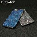 Novo Estilo 3D Tampa Tridimensional Estrelas Ultrafinos Fosco Caso de Telefone Céu Estrelado para iphone 5 5s se 6 6 s 7 mais casos de pc rígidos