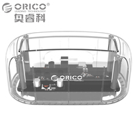 ORICO 2 5 3 5 Inch Transparent HDD Case USB3 0 To Sata 3 0 Tool