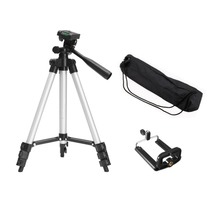Portable Flexible Mobile Phone Holder Telescopic Camera Tripod With Stand Mount Carry Bag For Smart Camcorder