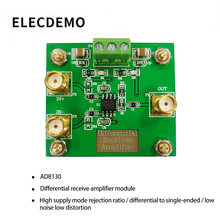 AD8130 Differential Receiver Amplifier  Differential to Single-Ended High Common-Mode Rejection Ratio Low Noise Low Distortion paz coated high quality good wear resistance low noise steel cord open ended pu megadyne timing belt