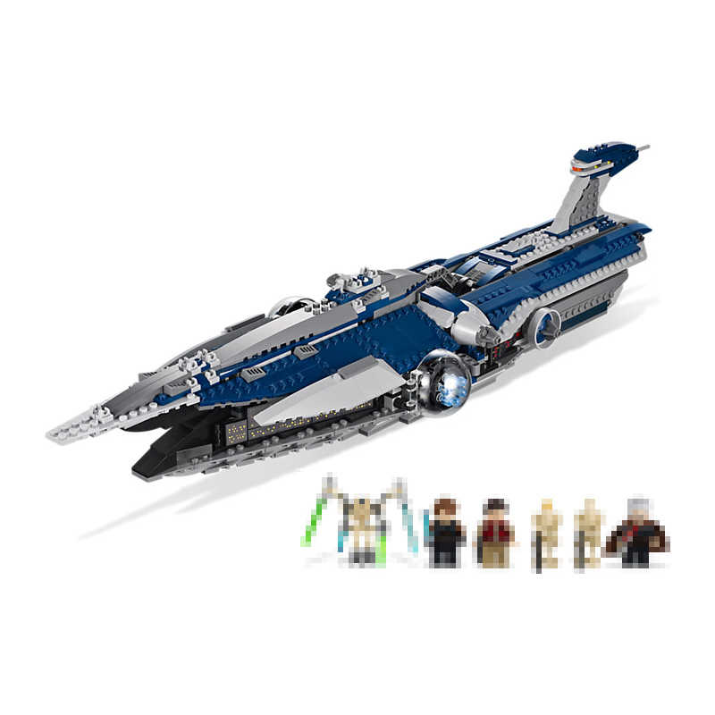 Lepin 05072 Star 1192Pcs Wars Series The Limited Edition Malevolence Warship Set Building blocks Bricks Model 9515 DIY Toys Gift new mf8 eitan s star icosaix radiolarian puzzle magic cube black and primary limited edition very challenging welcome to buy