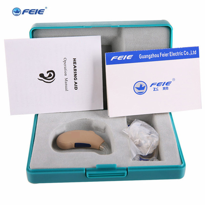 FEIE Analog BTE Sound Amplifier Hearing Aid S-188 Portable Behind The Eer Earphone Audiphone Free Shipping open fitting programmable bte hearing aid 7 channels sound hearing amplifier for treatment tinnitus my 26 battery free shipping
