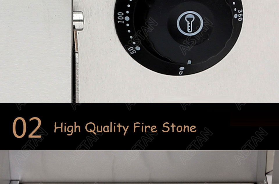 EP1AT electric stainless steel single layer higher chamber pizza oven with timer for baking bread, cake, pizza 9