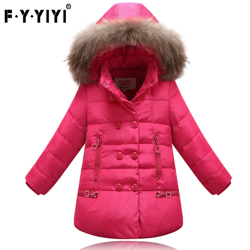 Children's down jacket High quality winter coat Kids Jackets Double breasted jacket New Winter Collection mens winter down jackets coats piumino peuterey wool collar double breasted jacket lapel pocket vertical multi pocket jacket