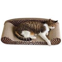 Luxury Pet Cat Scratch Board Pad Comfortable Cat Kitten Sofa Bed Cats Claws Care Toys Grinding Nail Scraper Mat Mattress