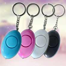 Self defence Safety Security Keychain Personal Alarm Emergency Siren Song Survival Whistle Loud Key tag Emergency Alarm