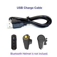 Мотоцикл велосипед шлем аксессуары USB кабель для зарядки костюм для BT-S2 BT-S1 BT-S3 Bluetooth домофон мотоцикл Шлемы-гарнитуры