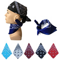 1Pcs Hip-Hop Bandanas Head Scaf For Male Female Unisex Multi Colour Headscarf Boys Girls hip-hop Head Wrap Scarf Wristband