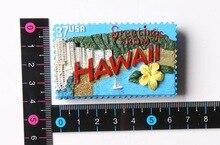 Hawaii Features travel fridge stickers