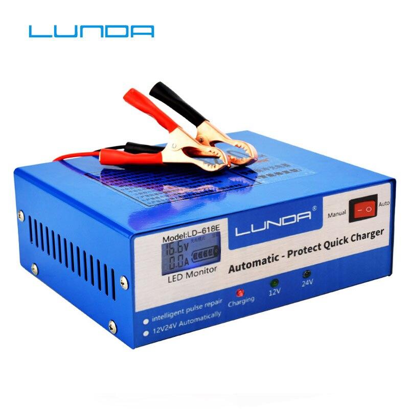 130 V-250 V Volle Automatische Auto Batterie Ladegerät 30AH-200AH For12V/24 V smart Schnelle Power Lade Geeignet für Alle auto motorrad