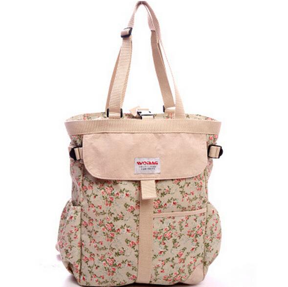 Bolsa de pañales mochila de Gran capacidad bolso de la momia bolsa de la madre Maternidad patchwork cochecito de niño en silla de ruedas bolsa de viaje al aire libre