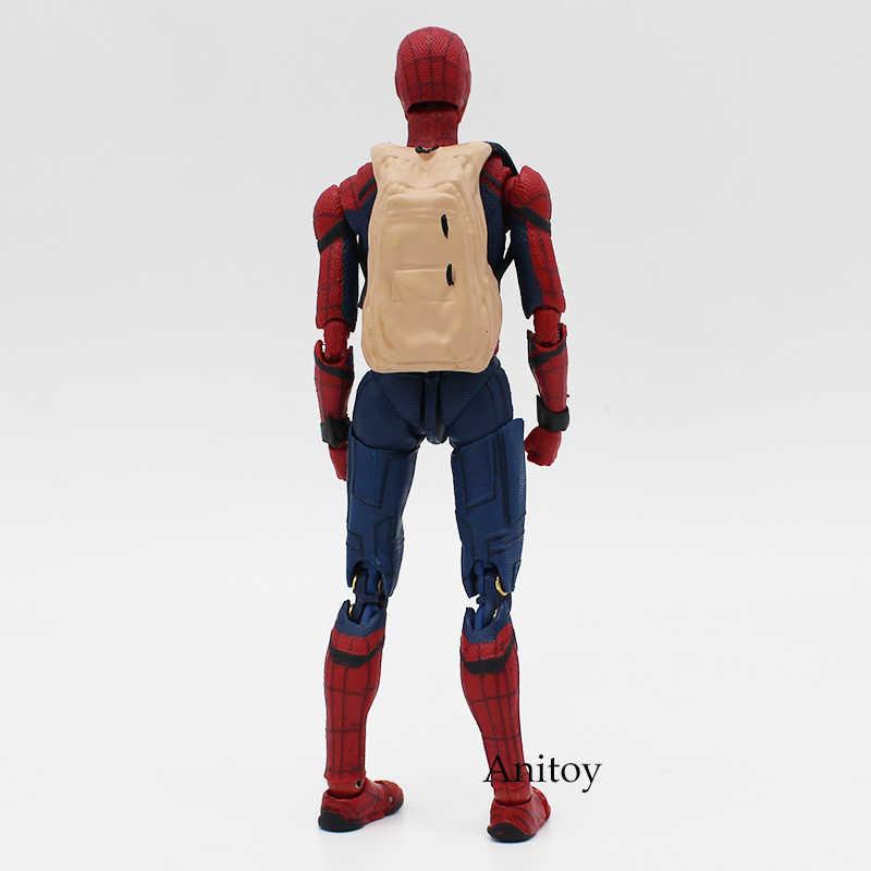Spider Man Ritorno A Casa Il Spiderman Stile Semplice e Herioc Action PVC Figure Da Collezione Toy Modello 14 centimetri