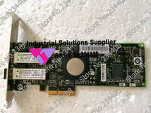 Original 4GB PCI-E LPE11002 43W7512 dual channel optical card