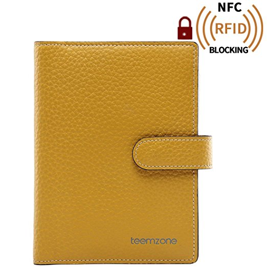 2017 New Arrived Leather Man Credit Card Holder Rfid Blocking Fashion Women Genuine Leather Business Hasp