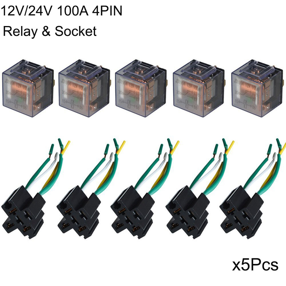 Online Buy Wholesale Auto Relay Wiring From China Auto Relay - How to wire relay in car