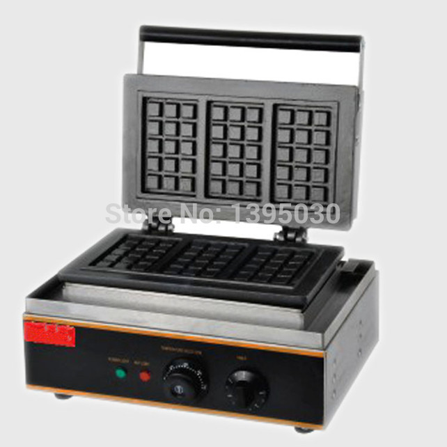 1PC FY-115 Electric Waffle Maker Commercial Waffle Baker Plaid Cake Furnace Sconced Machine Heating Machine electric square shape waffle maker commercial waffle baker plaid cake furnace machine heating machine fy 115