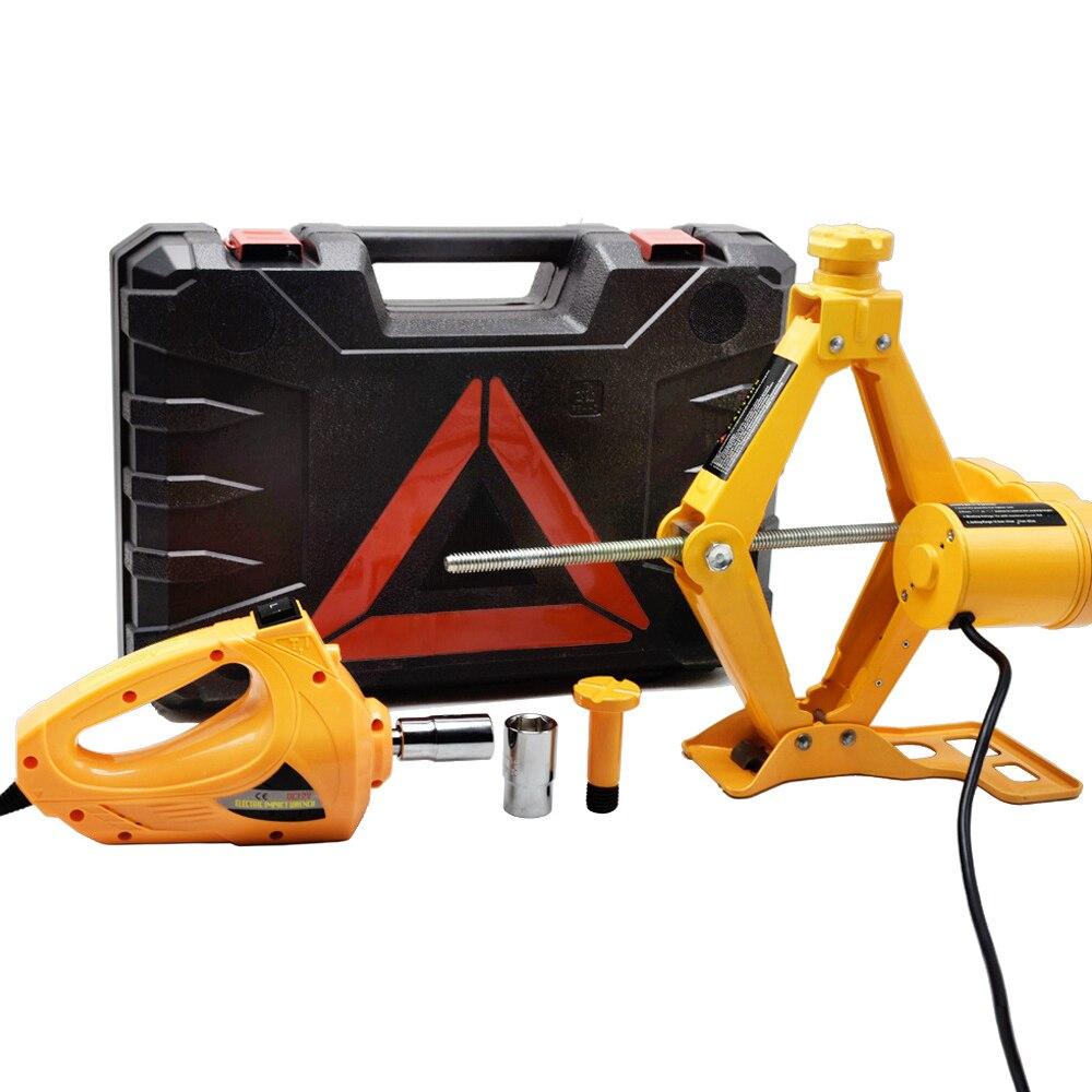 купить Automobile Repair Tool Hydraulic Lifting Jack Set Electric Wrench Air Compressor Car Emergency Tool по цене 6282.97 рублей