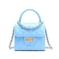 PU leather princess women coin purse chain crossbody phone pouch children wallet bolso mujer bolsa carteira feminina for girls