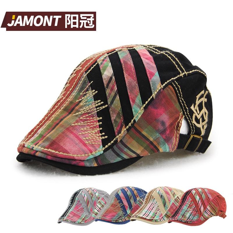Gorras Beret-Hat Flat-Caps Adjustable Fashion Cotton JAMONT Women Brand Planas Planas