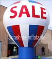 2016 новый дизайн крыше украшения гигантские надувные шины рекламируя воздушный шар