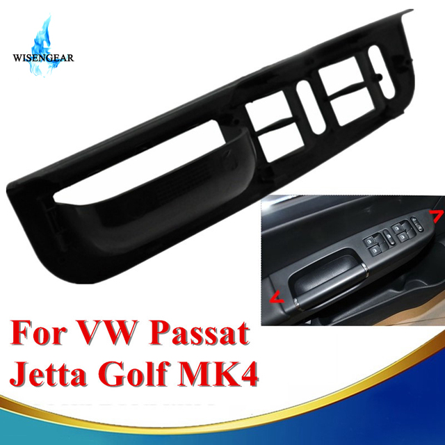 Car Interior Parts Door Window Mirror Button Switch Panel Trim For