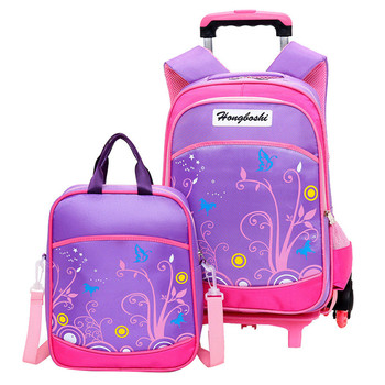 Children School Bags set Kids Suitcase With Wheels Trolley Luggage For Girls Boys Travel Trolley backpack baijiawei trolley children school bags kids backpacks with wheel trolley luggage for girls and boys backpack schoolbag