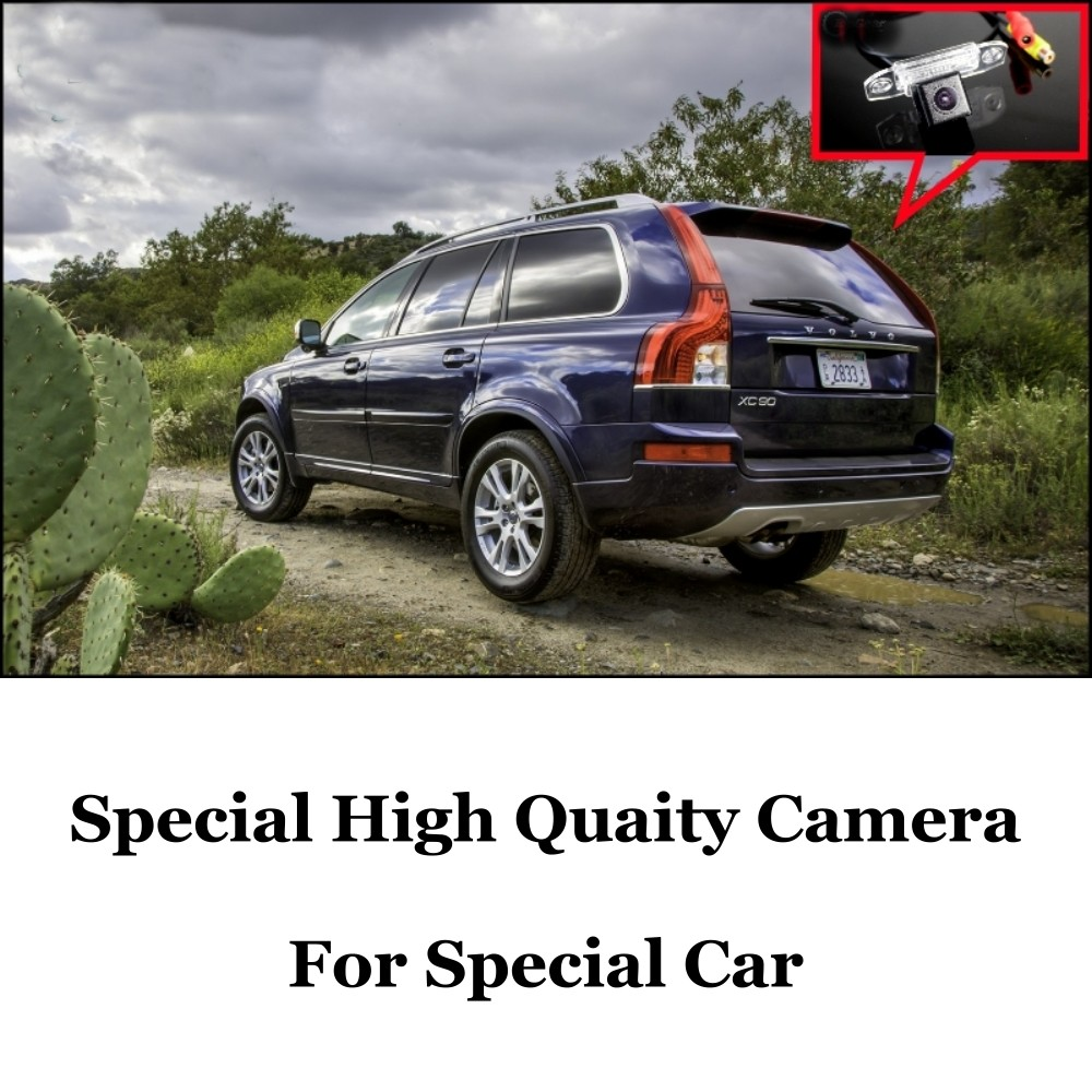 Car Camera For Volvo XC90 High Quality Rear View Back Up Camera For Fans  CCD + RCA Car
