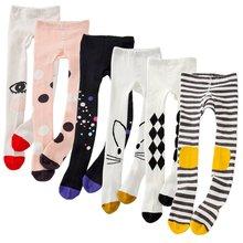 Прекрасный ребенок младенец дети персонаж мультфильм милые носки Длинные персонажи для маленьких девочек длинные носки