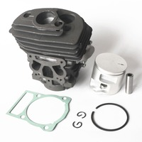 46mm Cylinder Piston & Rings Kit For Hus562XP Chainsaw repair part