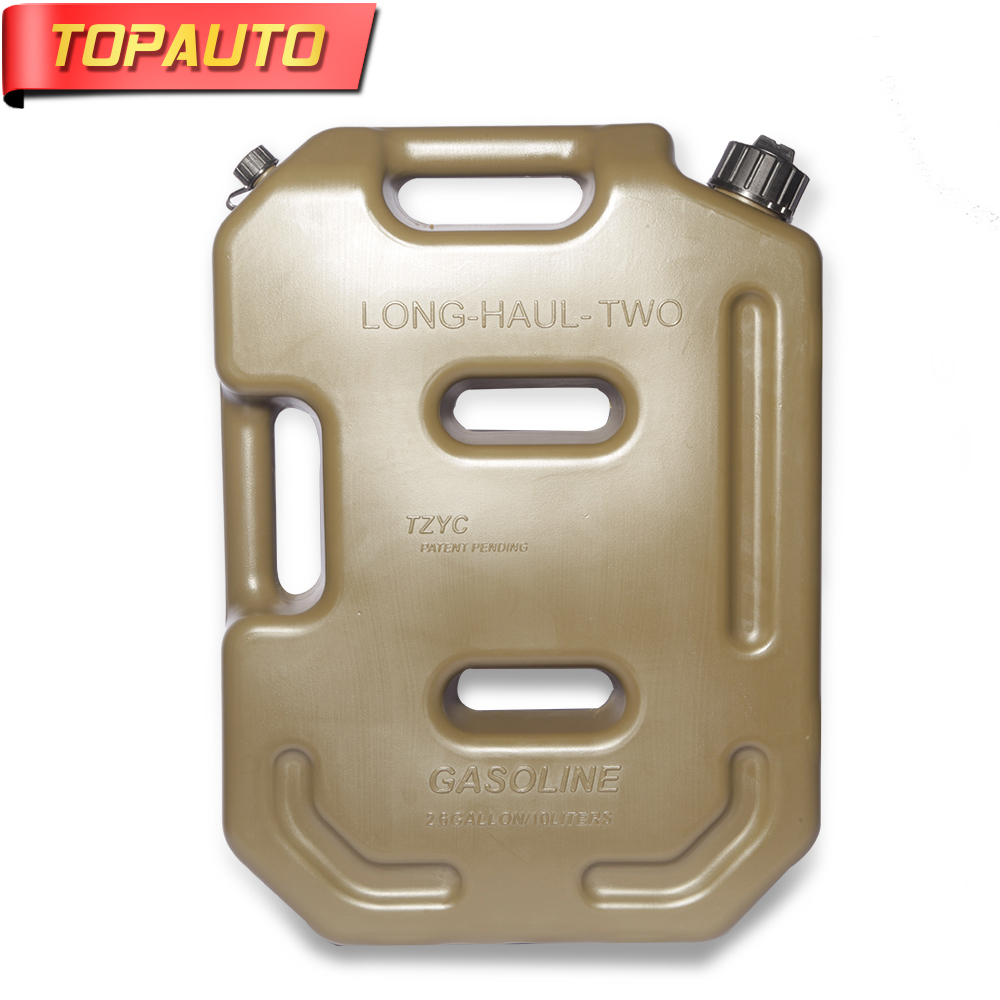TopAuto 10L Fuel Tank Oil Gasoline Diesel Water Tank Storage For Car Motorcycle Truck Household Accessories 1 2 built side inlet floating ball valve automatic water level control valve for water tank f water tank water tower