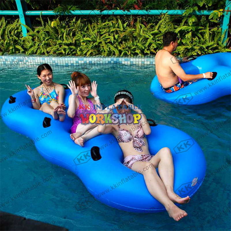 Inflatable Floating Row Bed Recliner Air Equipment sport game