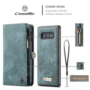 Image 5 - Чехол бумажник для Samsung Galaxy S10, чехол книжка на молнии с магнитной застежкой для телефона, чехол книжка для Samsung A51, S20 Plus, A50, A70, A80, S9, S8, Note 9