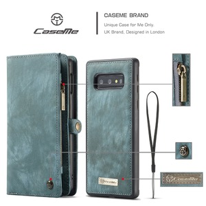 Image 5 - Wallet Case Voor Samsung Galaxy S10 Rits Magnetische Telefoon Case Folio Flip Cover Voor Samsung A51 S20 Plus A50 A70 a80 S9 S8 Note 9
