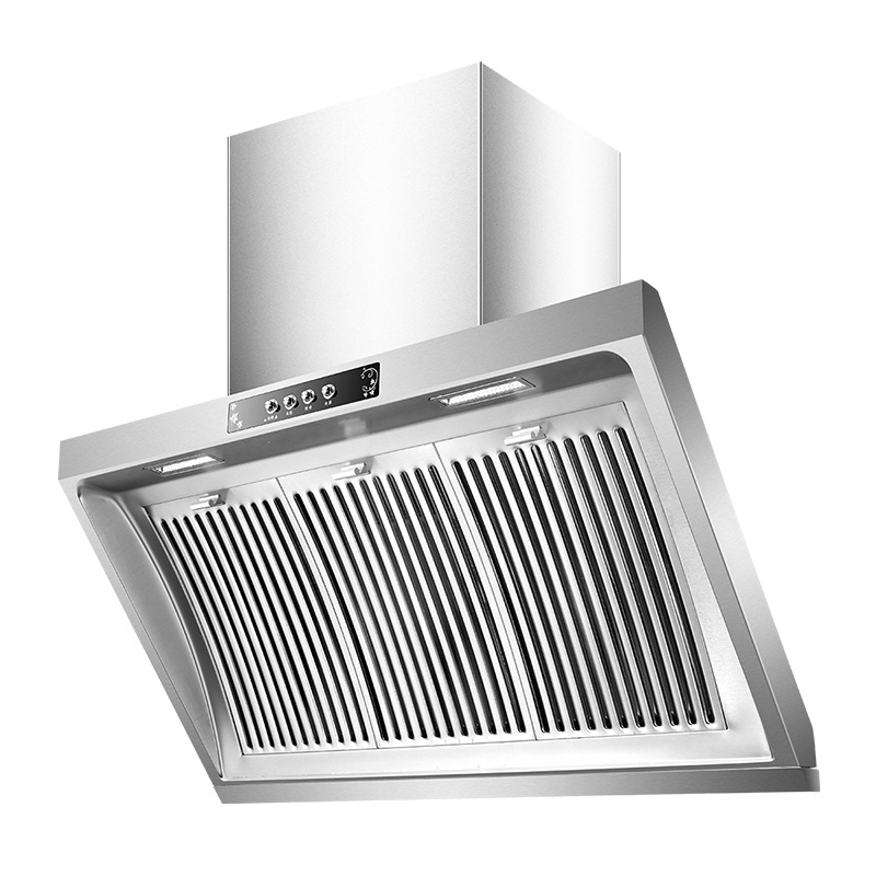 304 Stainless Steel Panel Hanging Range Hood Household Extractor Hood 900mm Side Suction CXW-268-F For Kitchen Supplies