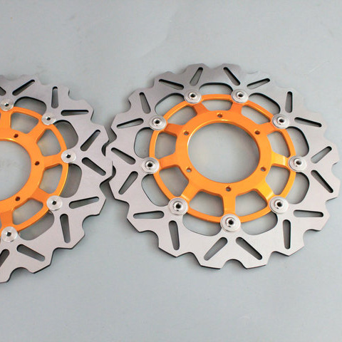 2 pieces motorcycle Front Brake Discs Rotor For Honda CBR600RR CBR1000RR CBR1000RR 2006 2007 2008 2009 2010 2011 2012 2013 2014 for honda cbr600rr 2007 2008 2009 2010 2011 2012 motorbike seat cover cbr 600 rr motorcycle red fairing rear sear cowl cover