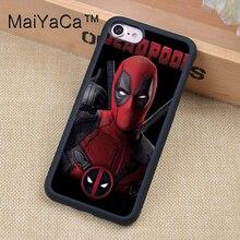 Marvel Avengers Superhero Deadpool Phone Cases For iPhone