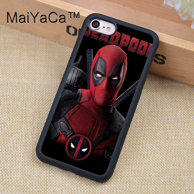Marvel Avengers Superhero Deadpool Phone Cases For iPhone
