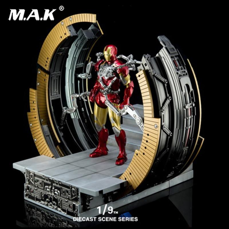 King Arts KA KSS007 The Avengers 1/9 DIECAST SCENE SERIES iron Man MK6 Demolition armor base MARK VI MOVING GANTRY iron king ik 604 1 page 6