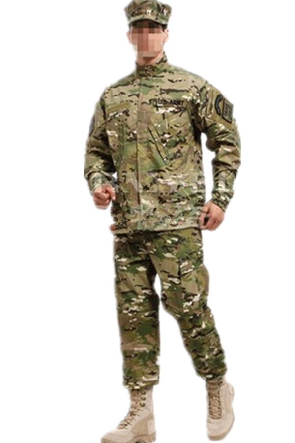ФОТО us army military uniform for men CP military jacket + MC camouflage training uniform camouflage pants suit ACU military clothing