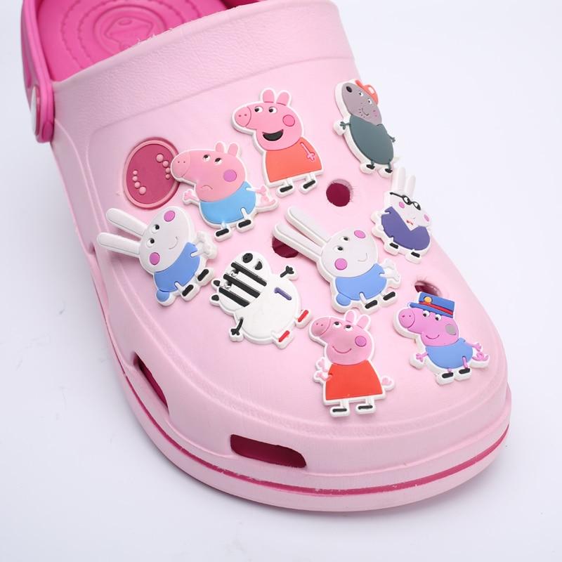 Posamezna prodaja 1pc Tsum PVC čevelj čara dodatki za čevlje DIY - Pribor za čevlje