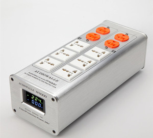 Image 3 - 2020 AUDIOWALLE TP1000 yeni güç arıtma güç filtresi ses fişi LED voltaj göstergesi