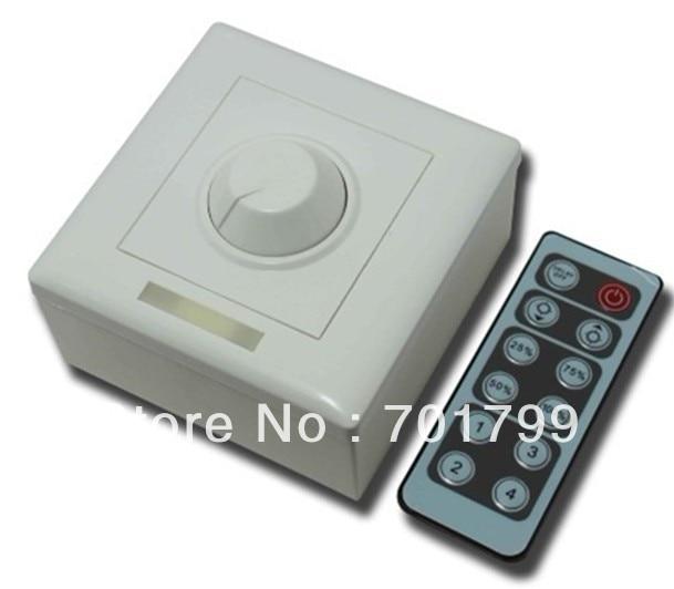 LED triac dimmer with IR remote,AC90-240V input;max 150W output