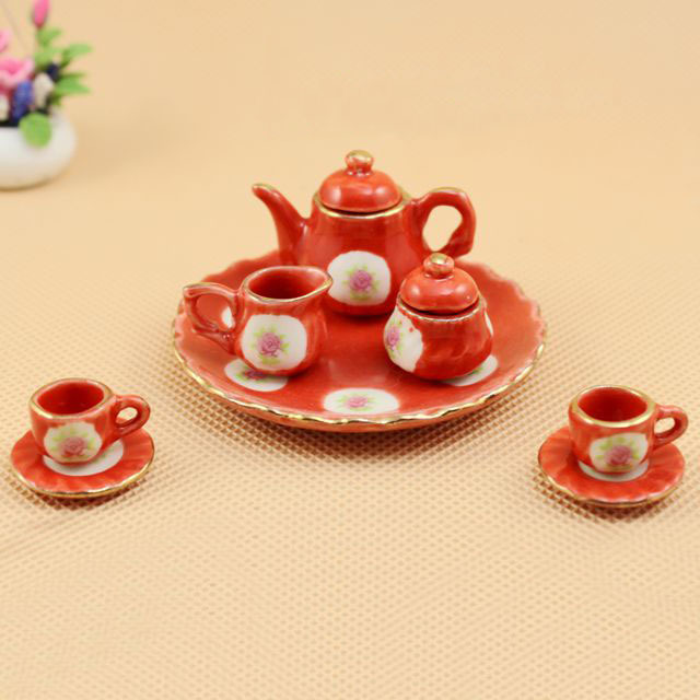 Tea Party Miniature Dollhouse Doll Houses Picture