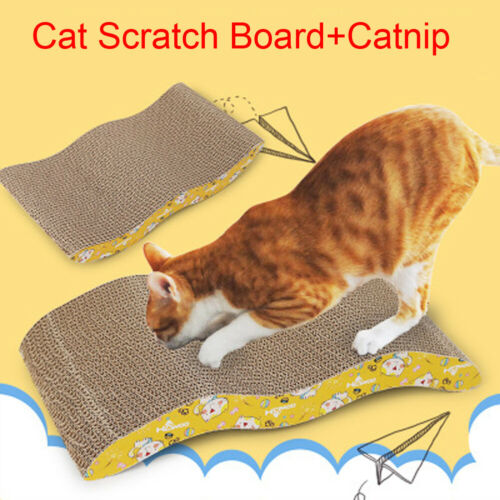 Big Cat Toy Climbing Frame Cat Toy Scratching Corrugated Board Grinding Claw Plate Catnip News
