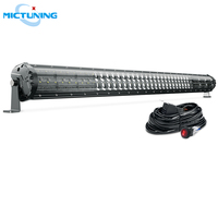 MICTUNING Magical M2 Dual Row 42'' High Power Offroad Driving LED Work Light Bar with Wiring Harness for SUV ATV Car Accessories