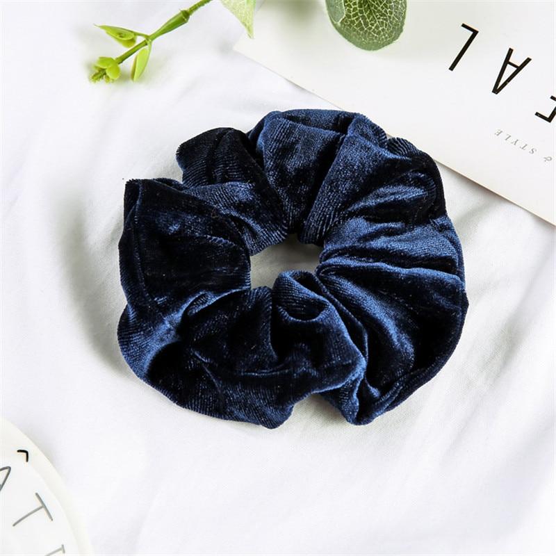 Женские бархатные резинки для волос, одноцветные резинки для волос, заколки для волос, эластичные резинки для волос, аксессуары для волос, головные уборы - Цвет: style 7